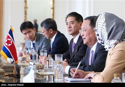 دیدار وزیرخارجه کره شمالی با ظریف