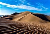 پایگاه جهانی بیابان لوت به عنوان گرم ترین مکان کره زمین نورپردازی شد + تصویر