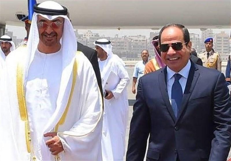 بن زاید و السیسی برای نهمین بار دیدار کردند