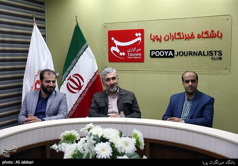 دیدار محمد احسانی مدیر شبکه نسیم با خبرنگاران تسنیم به مناسبت روز خبرنگار