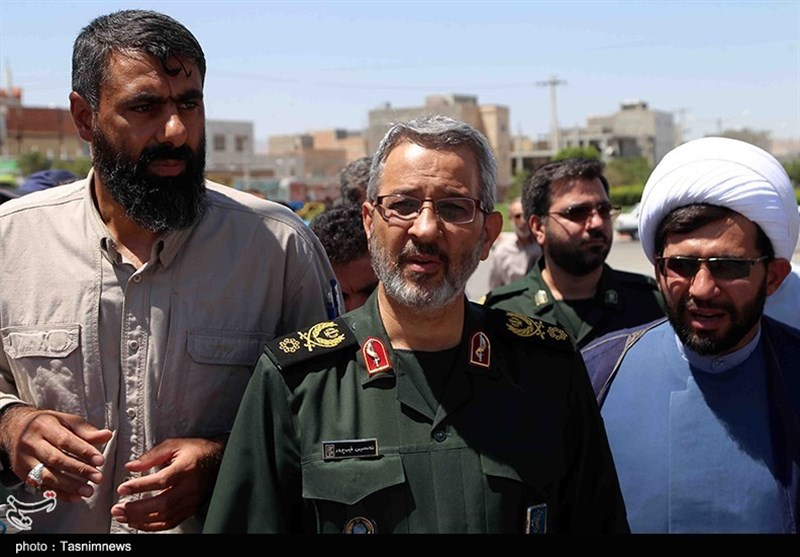 خوزستان| سردار غیبپرور از یادمان شهدای عملیات بیتالمقدس بازدید کرد