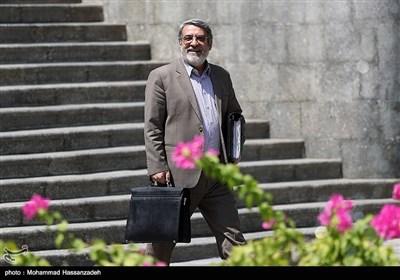 عبدالرضا رحمانی فضلی وزیر کشور در حاشیه جلسه هیئت دولت