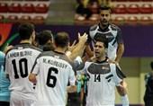 فوتسال قهرمانی باشگاههای آسیا بانک بیروت به مقام سوم مسابقات رسید/ جاوید در آستانه کسب عنوان آقای گلی