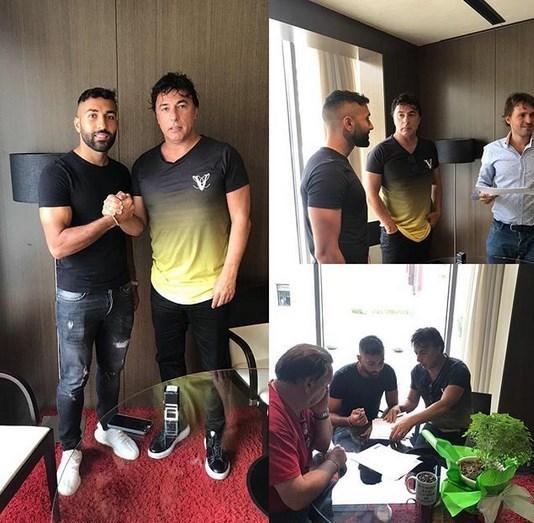 سامان قدوس به تیم اوئسکا اسپانیا پیوست