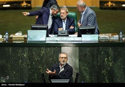 سخنرانی مسعود پزشکیان در مخالفت با استیضاح علی ربیعی وزیر تعاون ، کار و رفاه اجتماعی