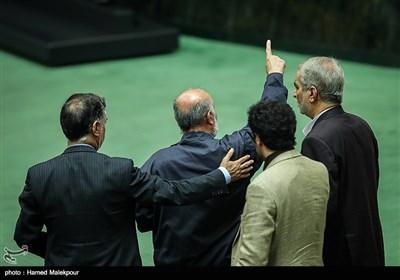 اعتراض علیرضا محجوب در جلسه استیضاح وزیر تعاون ، کار و رفاه اجتماعی
