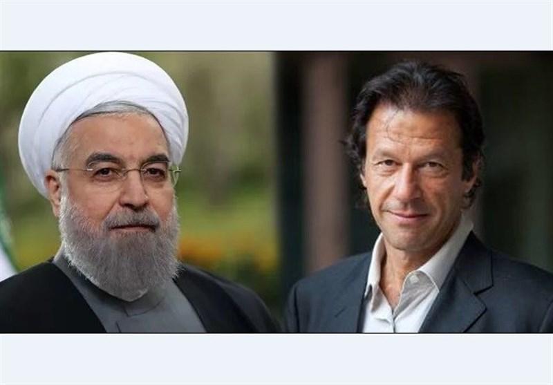 صدر روحانی کا عمران خان کو ٹیلی فون، دورہ ایران کی دعوت