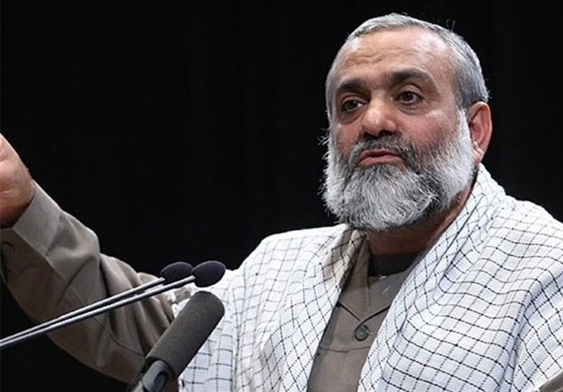 تهران| سردار نقدی: پس از تصویب برجام تحریمها چند برابر شد/ در هر حوزه که تحریم شدیم پیشرفت کردیم