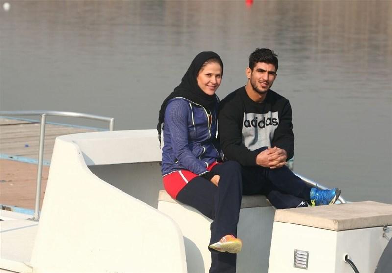 سیفی: امیدوارم با کسب مدال، انگیزههای همسرم را برای موفقیت بیشتر کنم/ تا آخرین نفس برای طلای سوم بازیهای آسیایی میجنگم