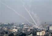 غزہ کی پٹی پر صہیونی لڑاکا طیاروں کی بمباری