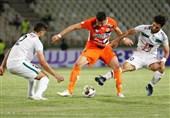 لیگ برتر فوتبال| تساوی سایپا و ذوبآهن با یک اخراجی/ پارس جنوبی از شکست مقابل نساجی گریخت