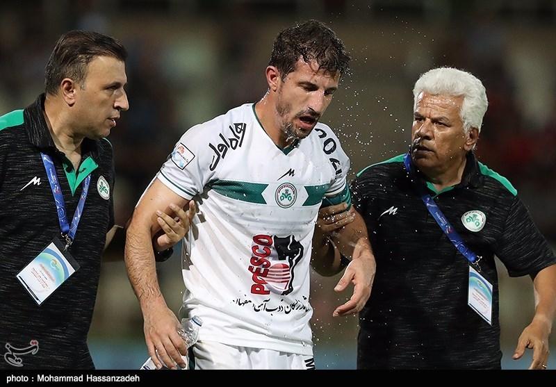 اصفهان| حدادیفر: هم ما عصبی بودیم هم هواداران؛ به تماشاگران گفتم نباید اینطور حرف بزنید