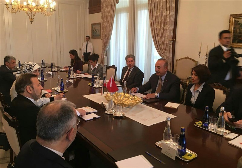 Iranian President's Envoy, Turkish FM Discuss Closer Ties