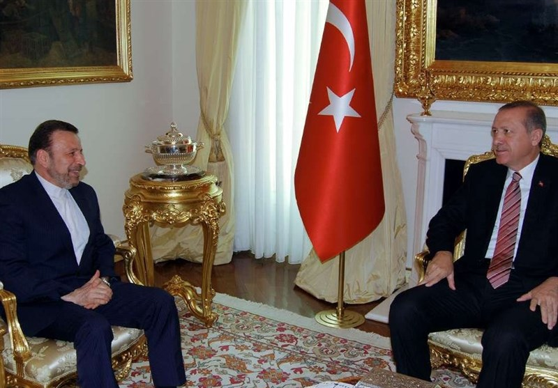 Iranian President's Chief of Staff Meets Erdogan in Ankara