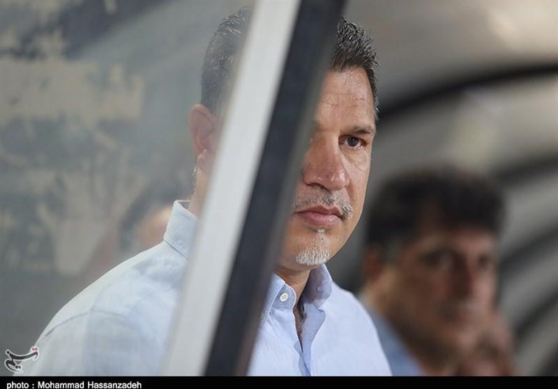 تبریز| غیبت دایی در نشست خبری پیش از دیدار تراکتورسازی - سایپا