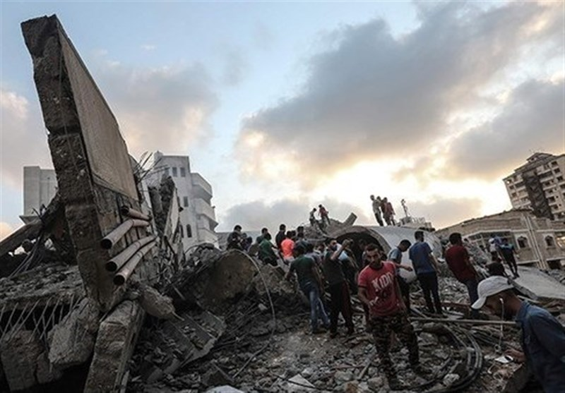 Gaza Cultural Center Destroyed in Israeli Airstrike (+Video)