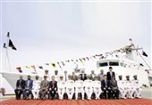 پاکستان با همکاری چین یک کشتی نظامی دیگر ساخت