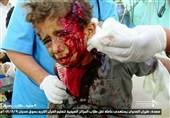 یمن|جنایت هولناک متجاوزان سعودی؛ 25 شهید و دهها زخمی در الجوف+عکس