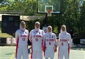 تیم بسکتبال سه نفره بانوان قهرمان رقابتهای غرب آسیا شد