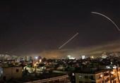 سانا: پدافند هوایی سوریه 8 هدف متخاصم در آسمان دمشق را سرنگون کرد
