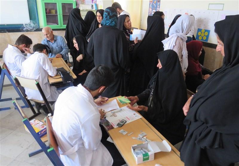 اردوی جهادی دانشجویان دانشگاه شاهد در لرستان + عکس
