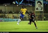 لیگ برتر فوتبال| برتری یک نیمهای نفت مقابل سایپا با چاشنی طلسمشکنی/ تساوی استقلال خوزستان و ذوبآهن در نیمه اول