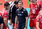 جام کنفدراسیون والیبال آسیا  عطایی: از عملکرد بازیکنانم راضی هستم