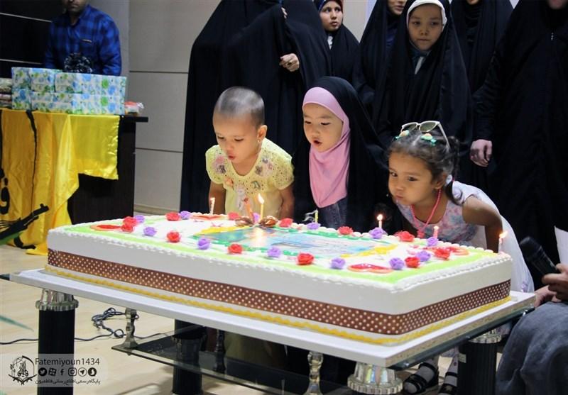 جشن تولد فرزندان مردادی شهدای فاطمیون +تصاویر