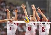 حریف تیم ملی والیبال ایران در دیداری دوستانه برنده شد