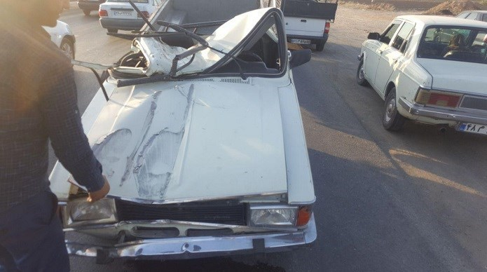 عکس تصادف مرگبار حوادث ورامین تصادف وحشتناک در ایران تصادف وانت تصادف پیکان پر تصادف ترین خودرو اخبار ورامین اخبار تصادف اخبار پیشوا