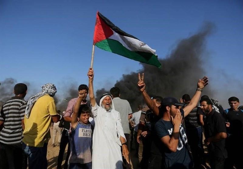 فلسطین| حمله نظامیان صهیونیست به شرکت کنندگان در راهپیمایی بازگشت/ سرکوب تظاهرات در کرانه باختری