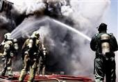 وقوع آتشسوزی در مجمتع تجاری خیابان بهار با یک کشته/ نجات 100 نفر