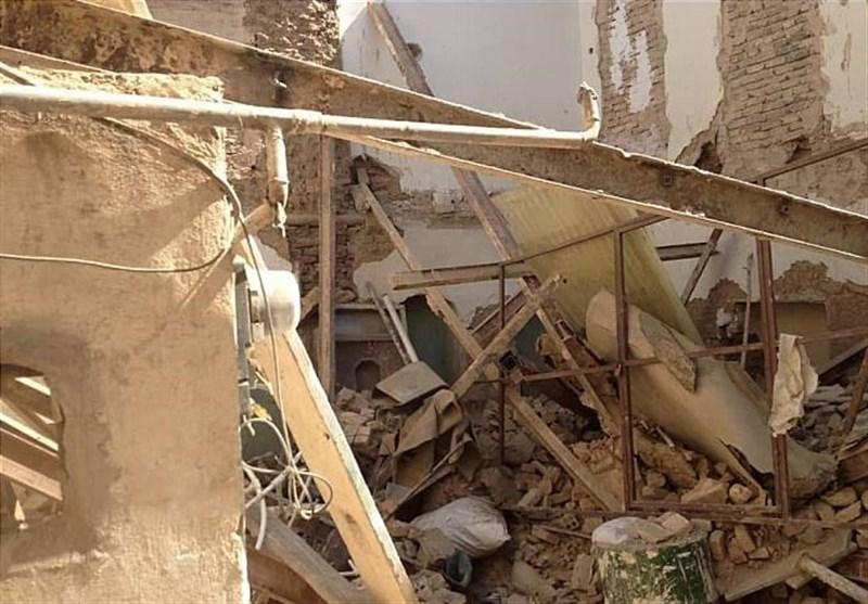 ریزش و تخریب دیوار آشپزخانه در استان گلستان حادثه آفرید؛ اعزام 5 تیم آواربرداری به محل حادثه