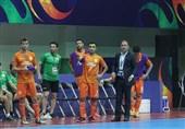 اصفهان| سرمربی تیم فوتسال گیتیپسند: گل نخوردن تیم از پیروزی شیرینتر بود