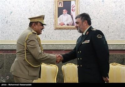 دیدار فرمانده مرزبانی عراق با سردار اشتری