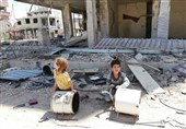 Destruction Left by Terrorists on Face of Syrian Town of Hajar Al-Aswad (+Photos)