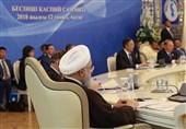 بیانیه مشترک کشورهای ساحلی خزر؛ معاهده بینالمللی بنیادین توسط سران پنج کشور امضا شد