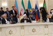 Iran's Rouhani Lauds Signing of Caspian Sea Legal Regime Convention