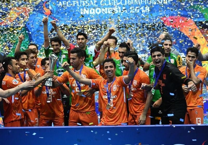 تمجید AFC از عملکرد مس سونگون در مسابقات فوتسال قهرمانی باشگاههای آسیا