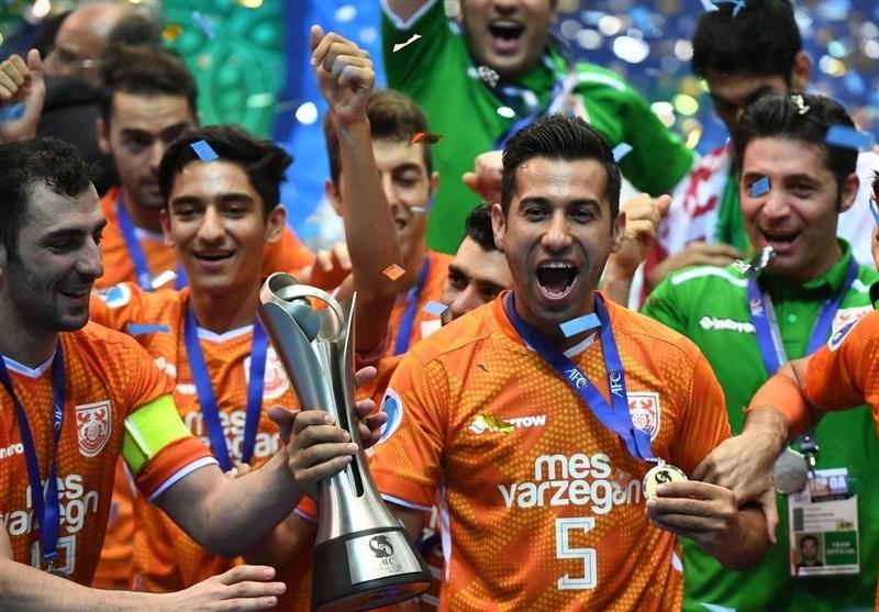 ترابیان: برگ زرینی به دفتر فوتسال کشور اضافه شد و به آن میبالم/ بازیکنان ایرانی موجب افزایش سطح مسابقات قهرمانی آسیا شدند
