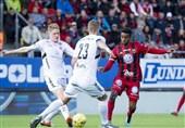 لیگ برتر سوئد| پیروزی اوسترشوندس با گلزنی قدوس