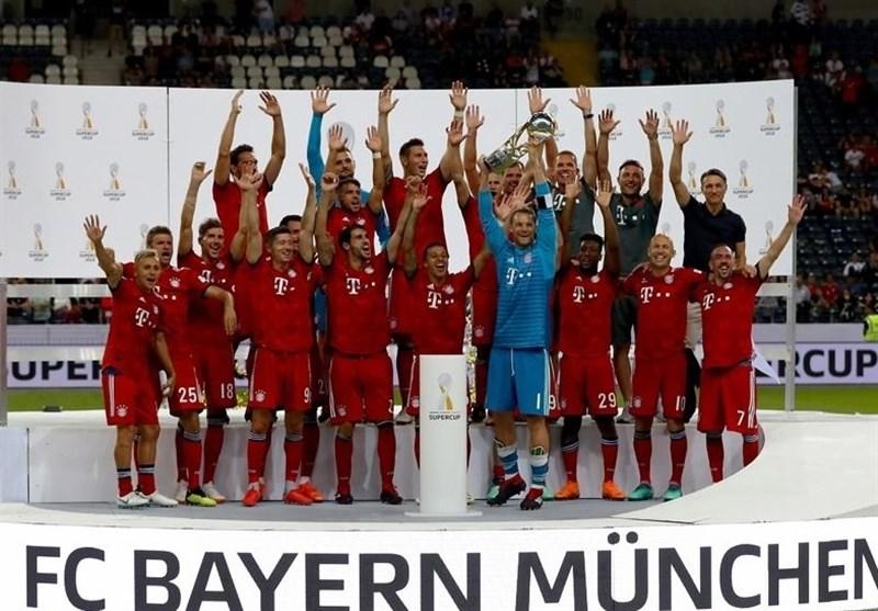 هفتمین قهرمانی بایرن مونیخ در سوپر جام آلمان از نگاه تصاویر