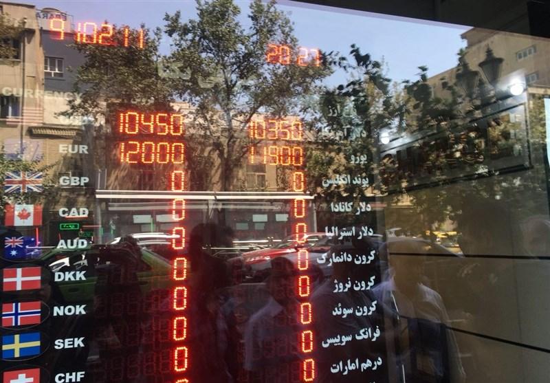 دلار مسافرتی 10 هزار و 450 تومان و یورو 12 هزار تومان شد/ صف خرید در فردوسی