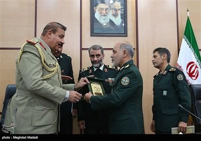 دیدار فرمانده مرزبانی عراق با معاون هماهنگکننده ستادکل نیروهای مسلح