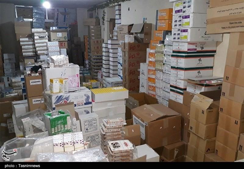 انبار میلیاردی نگهداری غیرمجاز دارو در استان اصفهان کشف شد