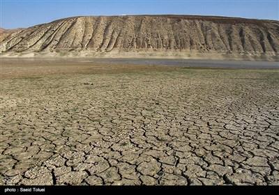 کاهش آب سد بارزو شیروان