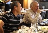 بازیکنان پرسپولیس و خوردبین در ضیافت ناهار برانکو