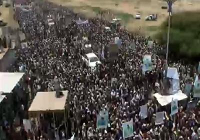 یمن|برگزاری راهپیمایی علیه آمریکا و عربستان عصر جمعه در صنعاء؛ هلاکت بیش از 60 مزدور عربستان