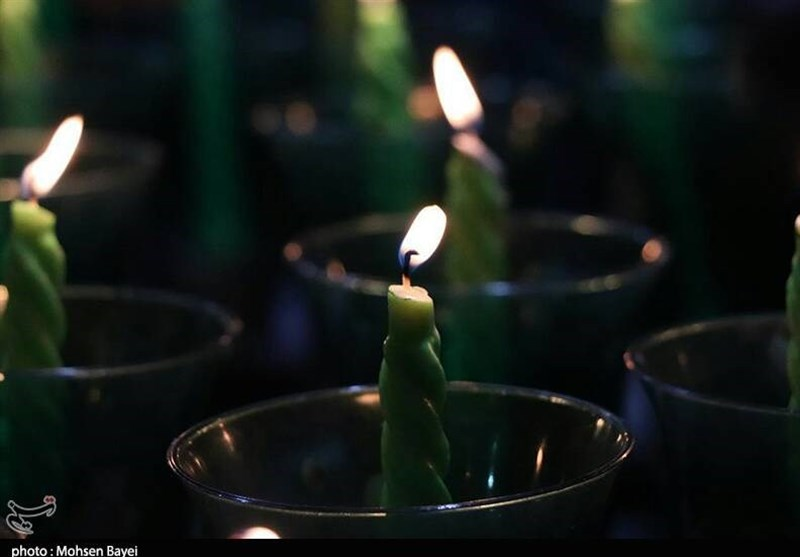 آئین شمعگردانی در کاشان