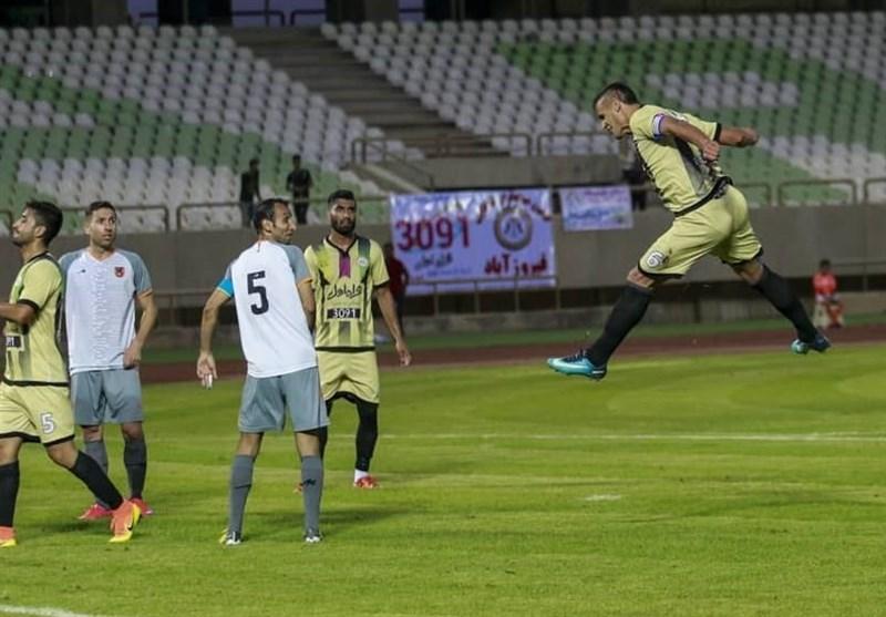 لیگ دسته اول فوتبال| توقف استقلال خوزستان مقابل قشقایی